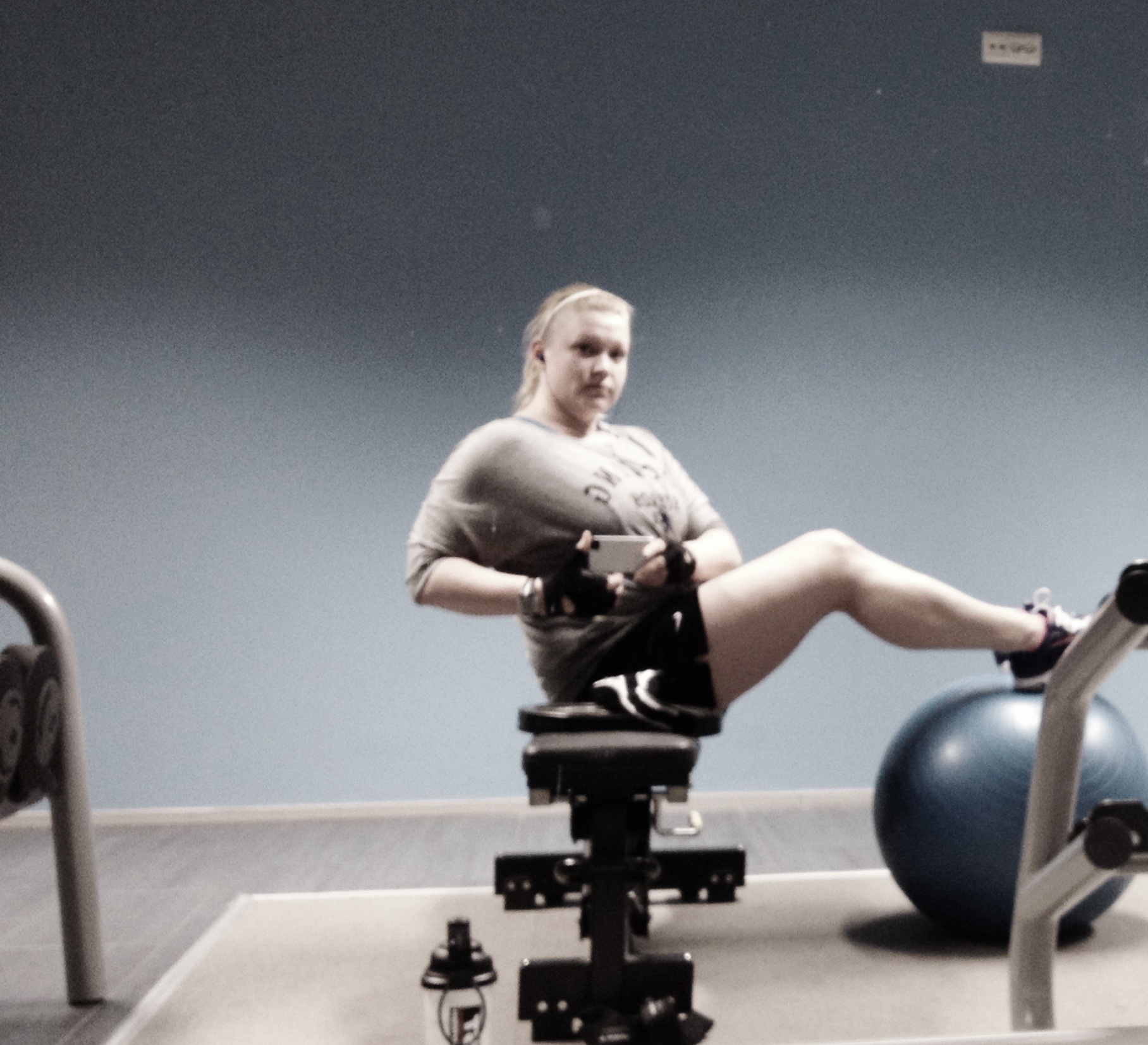 Bench Press Person: Confessions Of A Gym Bunny