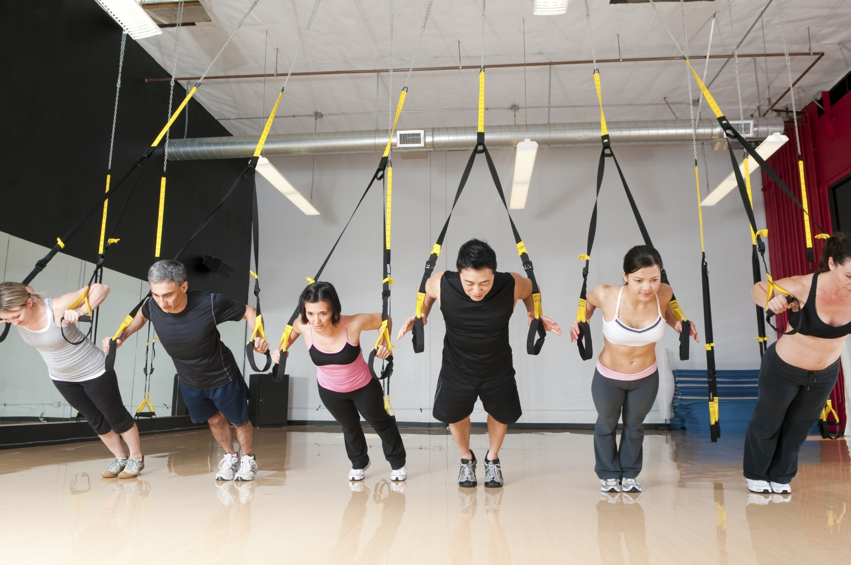 TRX torture for legs